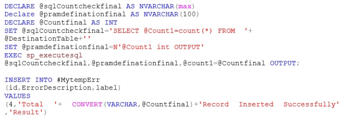 Data Import Simplified: Excel to SQL Using Stored Procedure