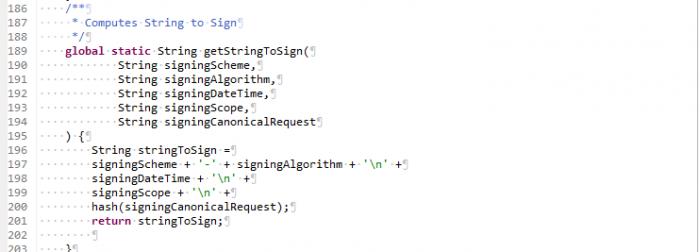Salesforce to Amazon Integration Using Signature Version 4: Part 2